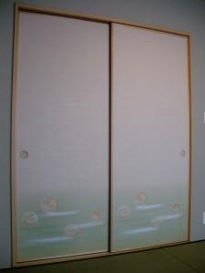 和室の襖戸!